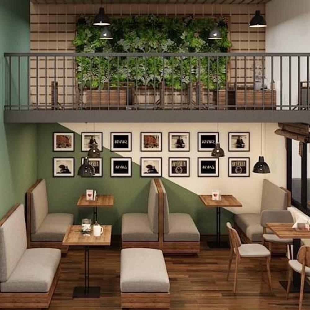 thiết kế quán cafe nhỏ giá rẻ mà đẹp