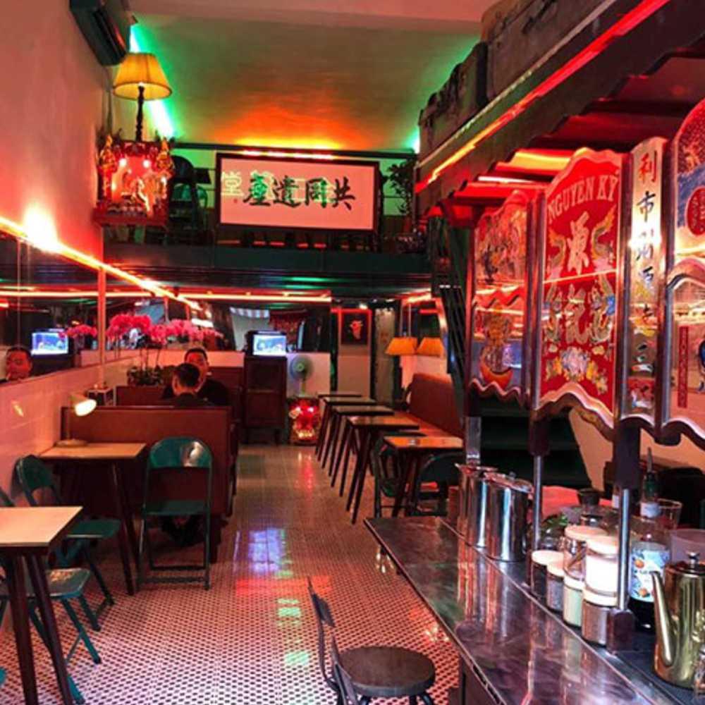 thiết kế quán cafe phong hongkong