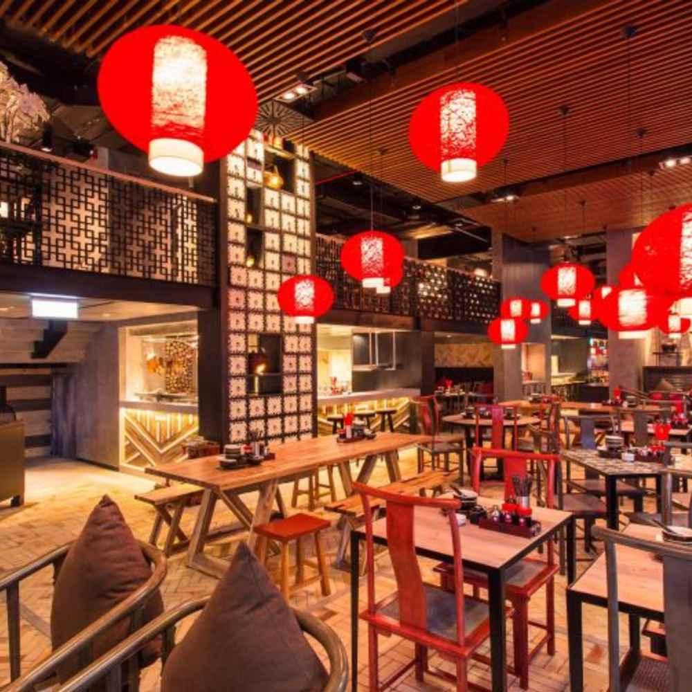 thiết kế quán cafe phong hongkong sang trọng