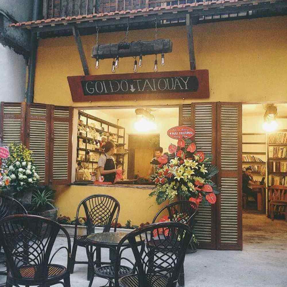 thiết kế quán cafe phong cách vintage đẹp