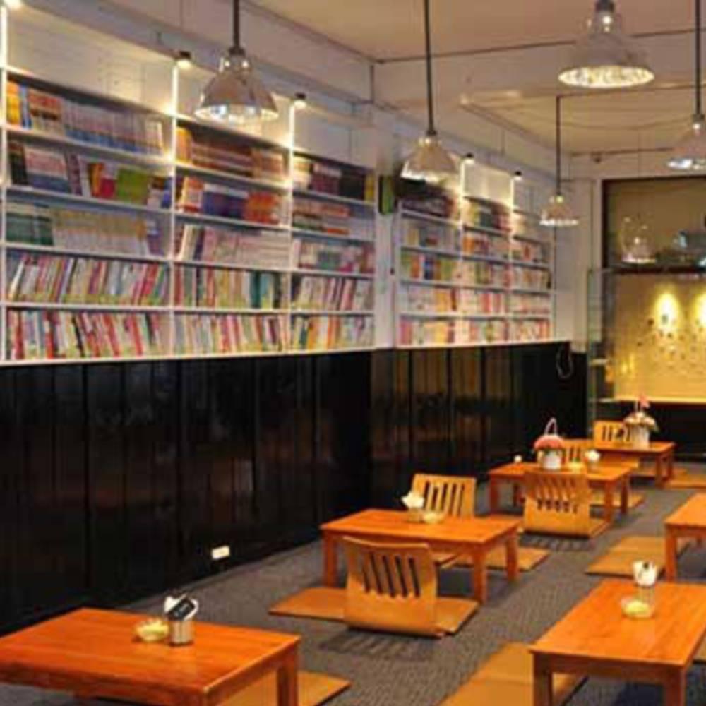 thiết kế quán cafe sách sáng tạo