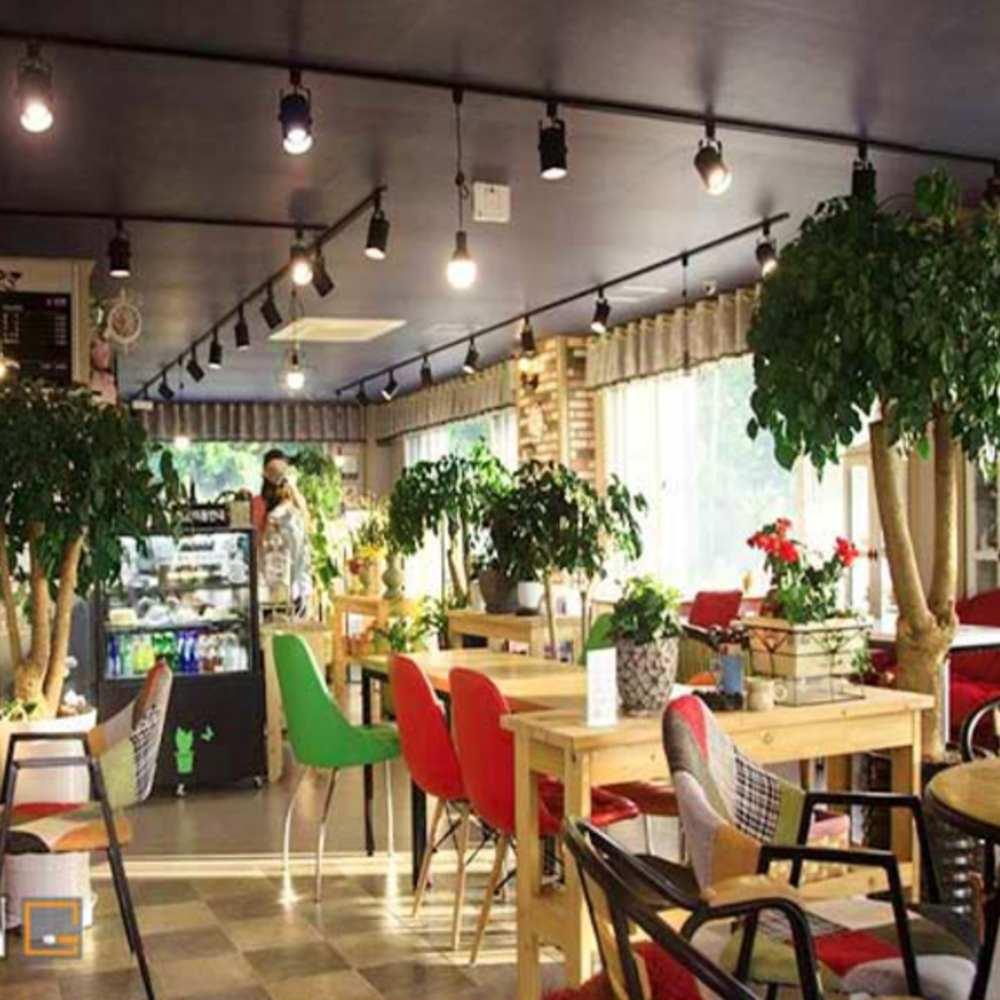 thiết kế quán cafe theo phong cách hàn quốc dễ thương
