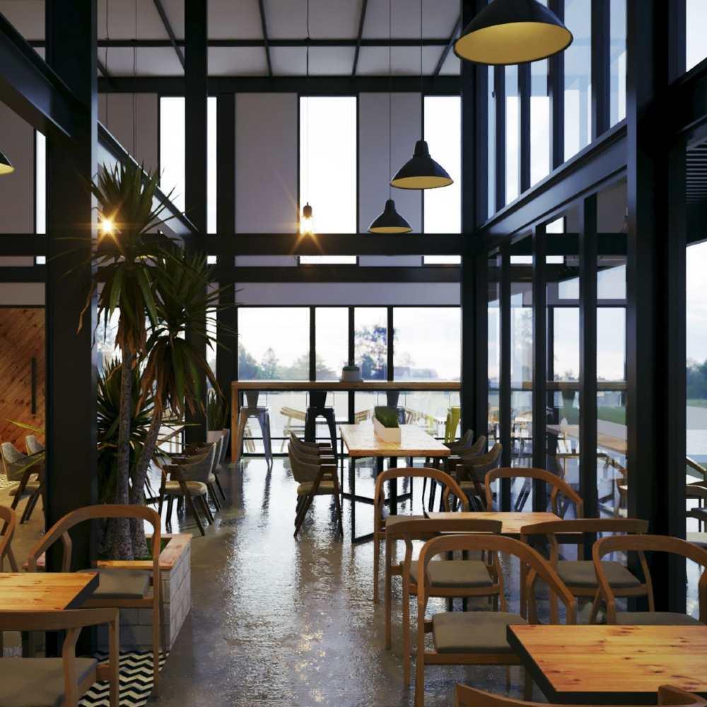 thiết kế quán cafe theo phong cách hàn quốc sang trọng