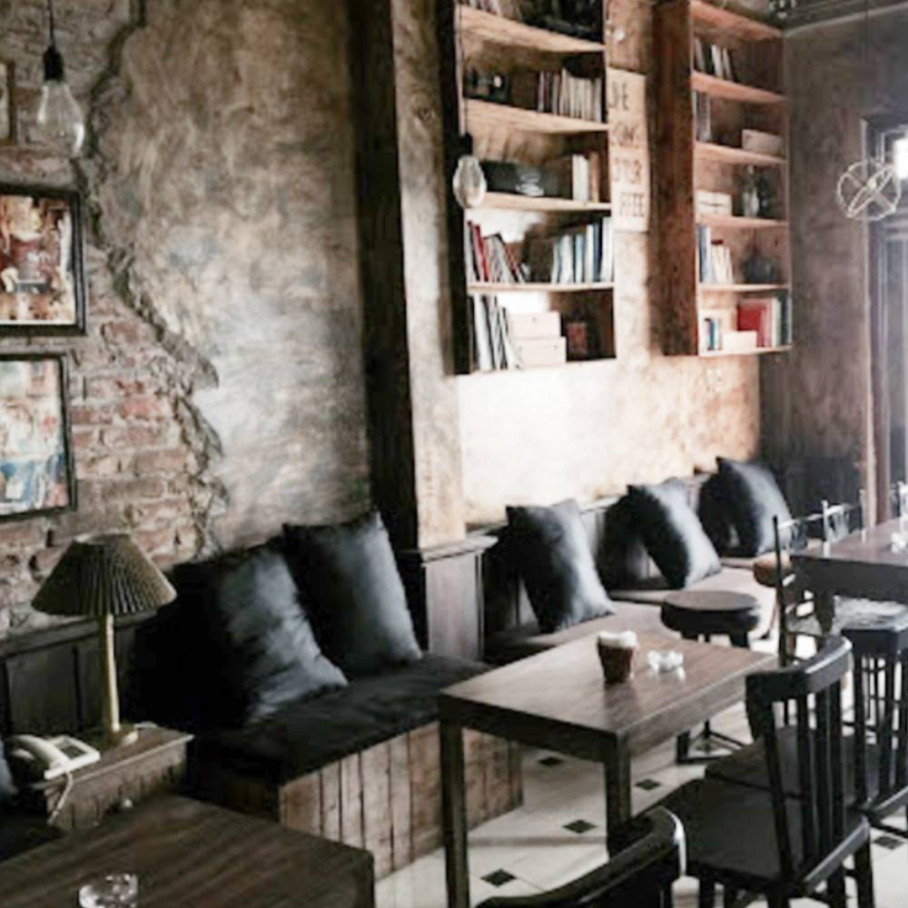 thiết kế quán cafe theo phong cách retro đẹp