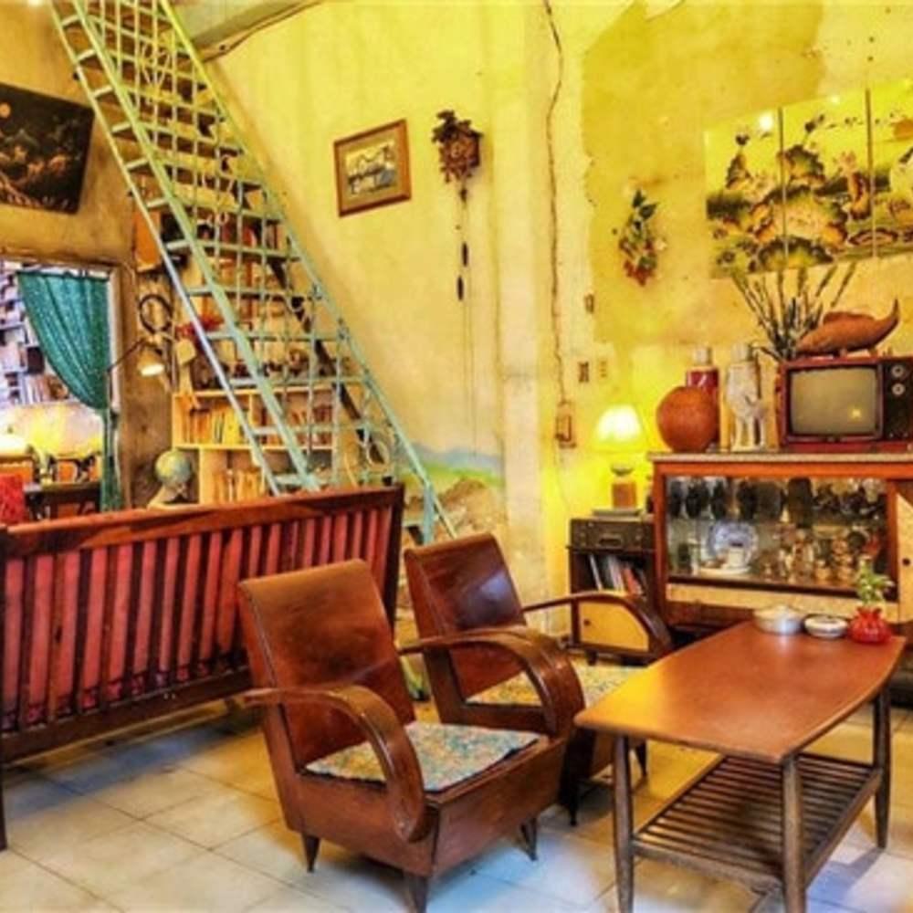 thiết kế quán cafe theo phong cách retro