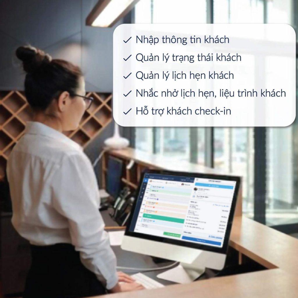 quản lý lịch hẹn khách hàng