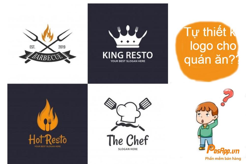tự thiết kế logo quán ăn