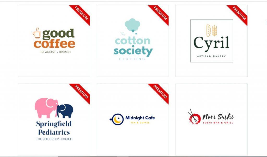 một số kiểu logo có sẵn