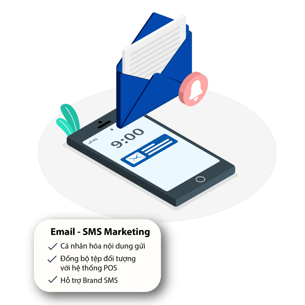 email sms marketing cho tiệm nail