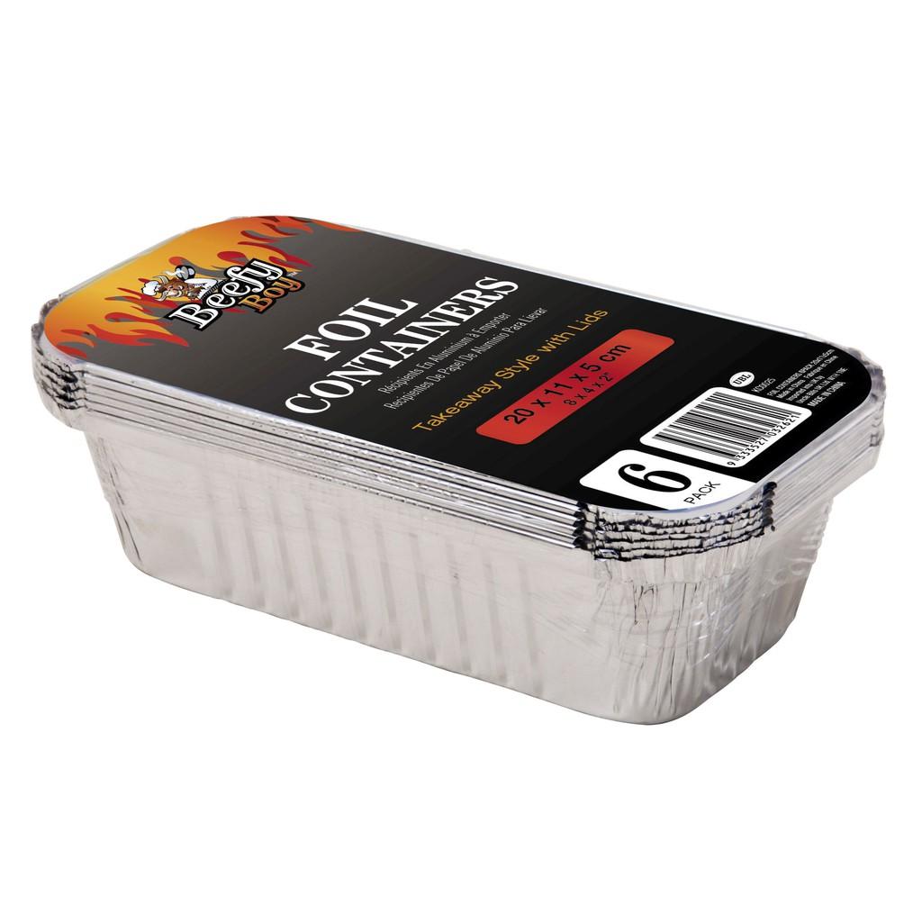 hộp giấy bạc đựng đồ ăn