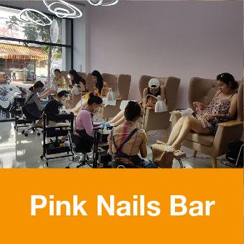 pink nails bar