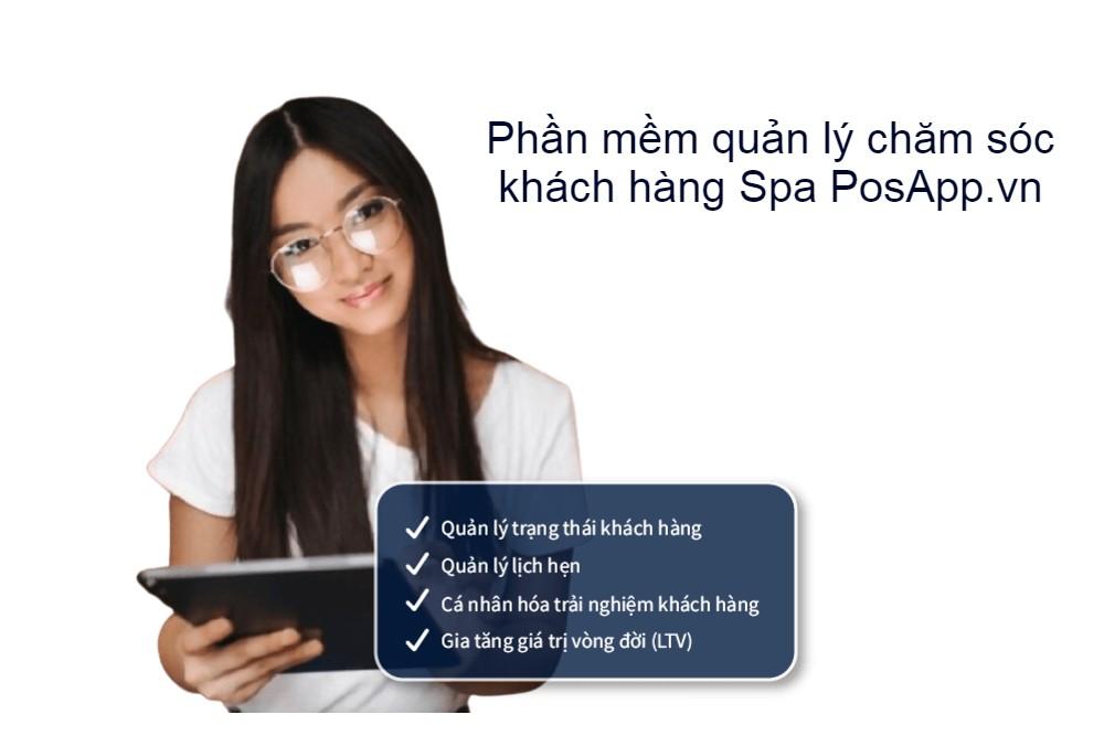 phần mềm quản lý khách hàng spa