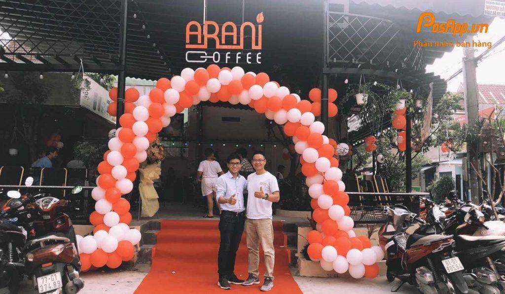 quán arani coffee