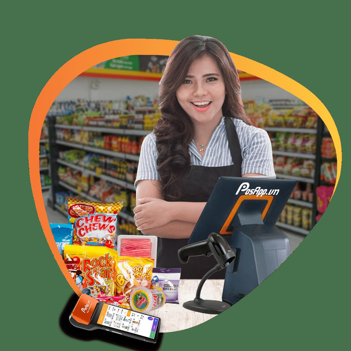 phần mềm siêu thị mini