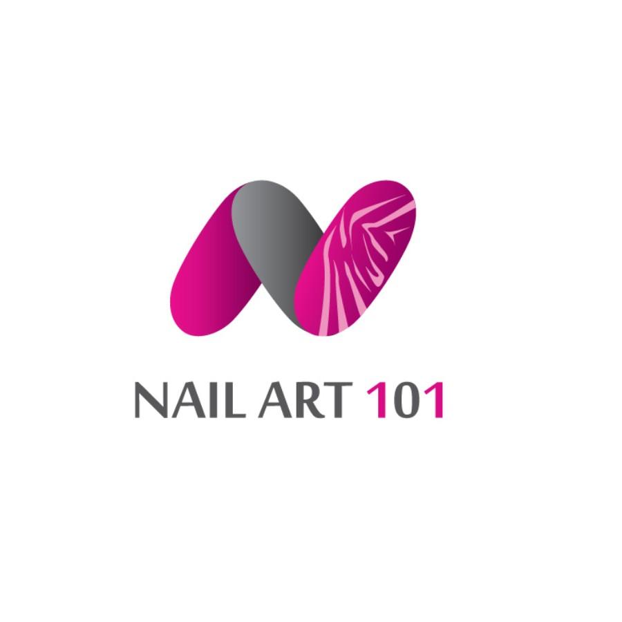 mẫu logo nail mi đẹp độc đáo
