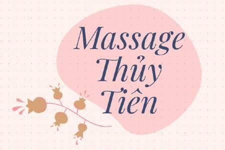 massage thủy tiên