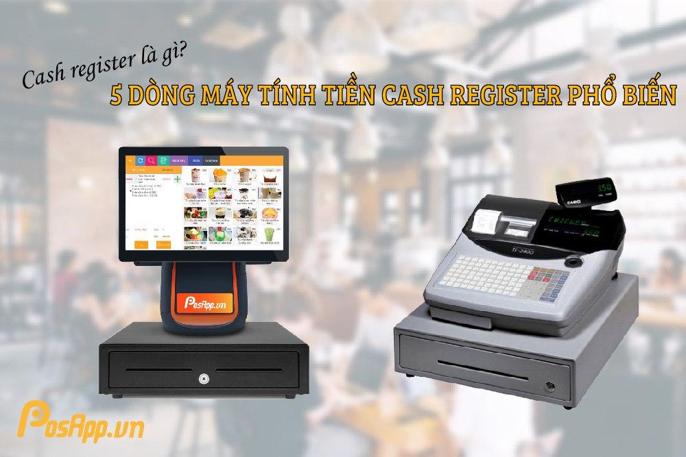 máy tính tiền cash register