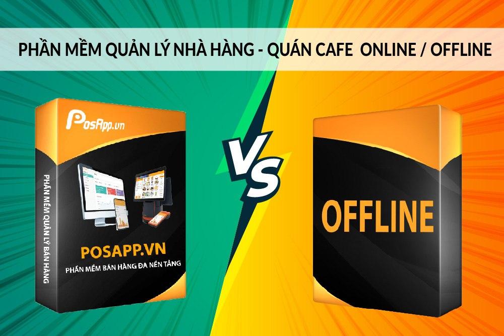 phần mềm quản lý cafe nhà hàng online