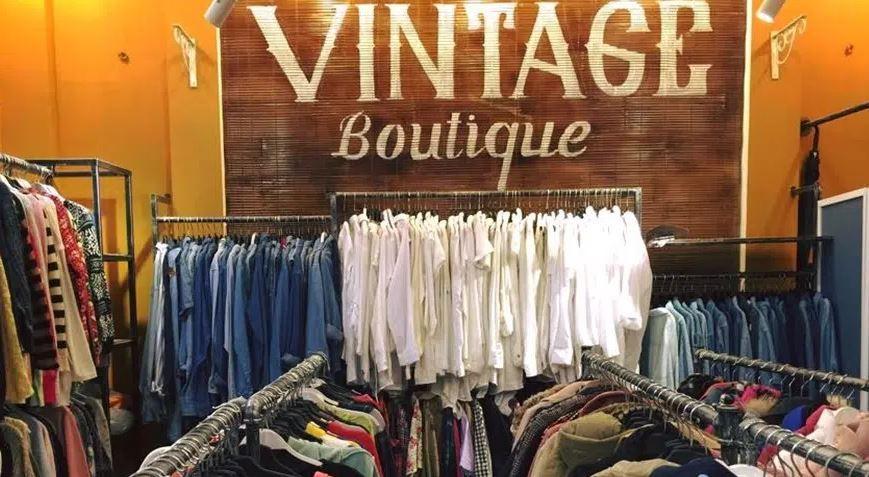bảng hiệu shop đồ si vintage