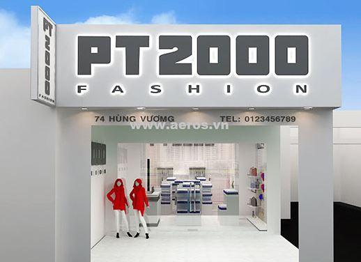 Bảng hiệu shop thời trang hiện đại