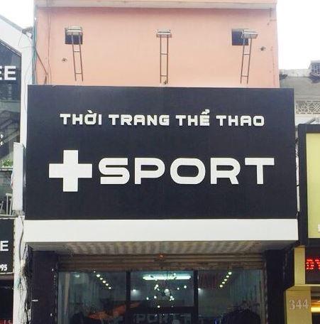 bảng hiệu shop thời trang thể thao