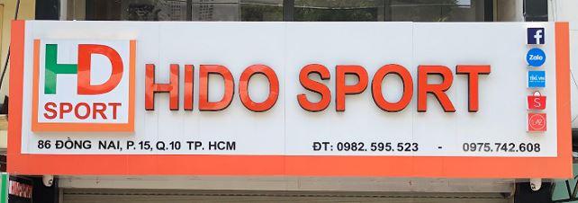 bảng hiệu thời trang thể thao