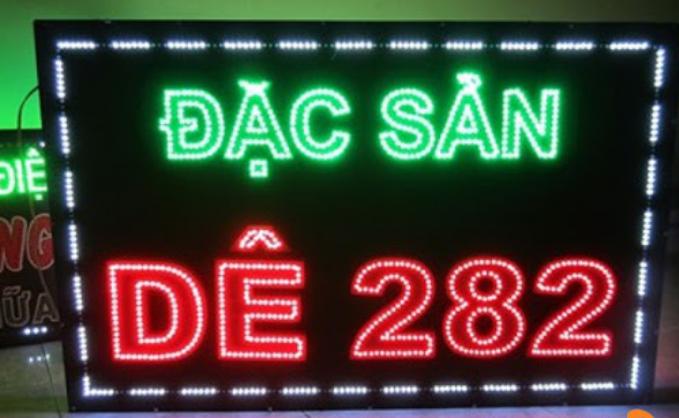 bảng hiệu quán nhậu đèn led