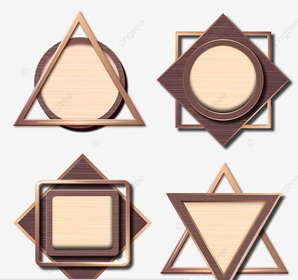 mẫu hiệu hình đa giác
