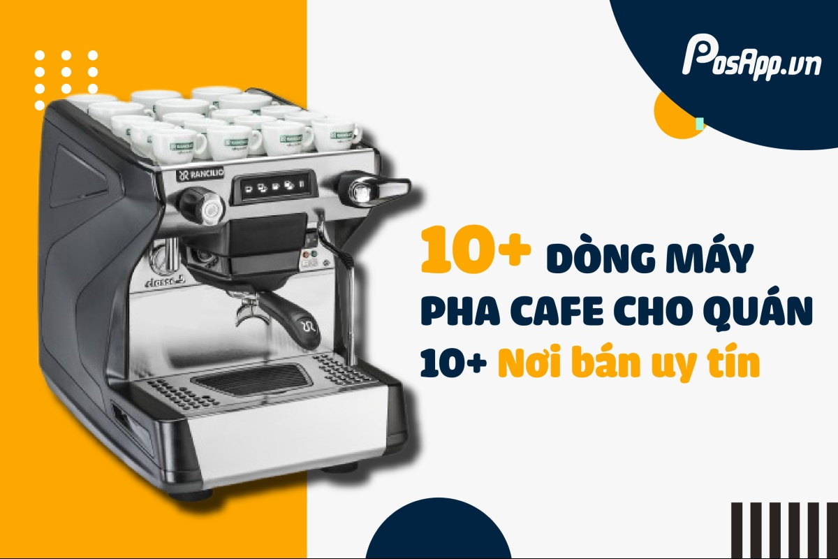 dòng máy pha cafe