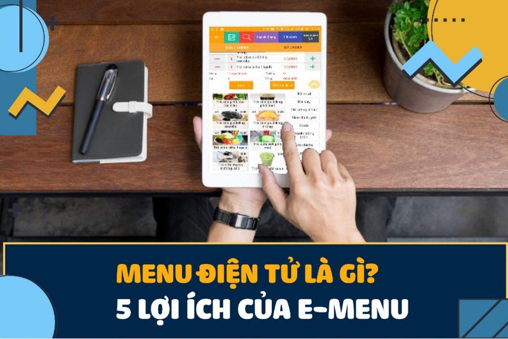 menu điện tử