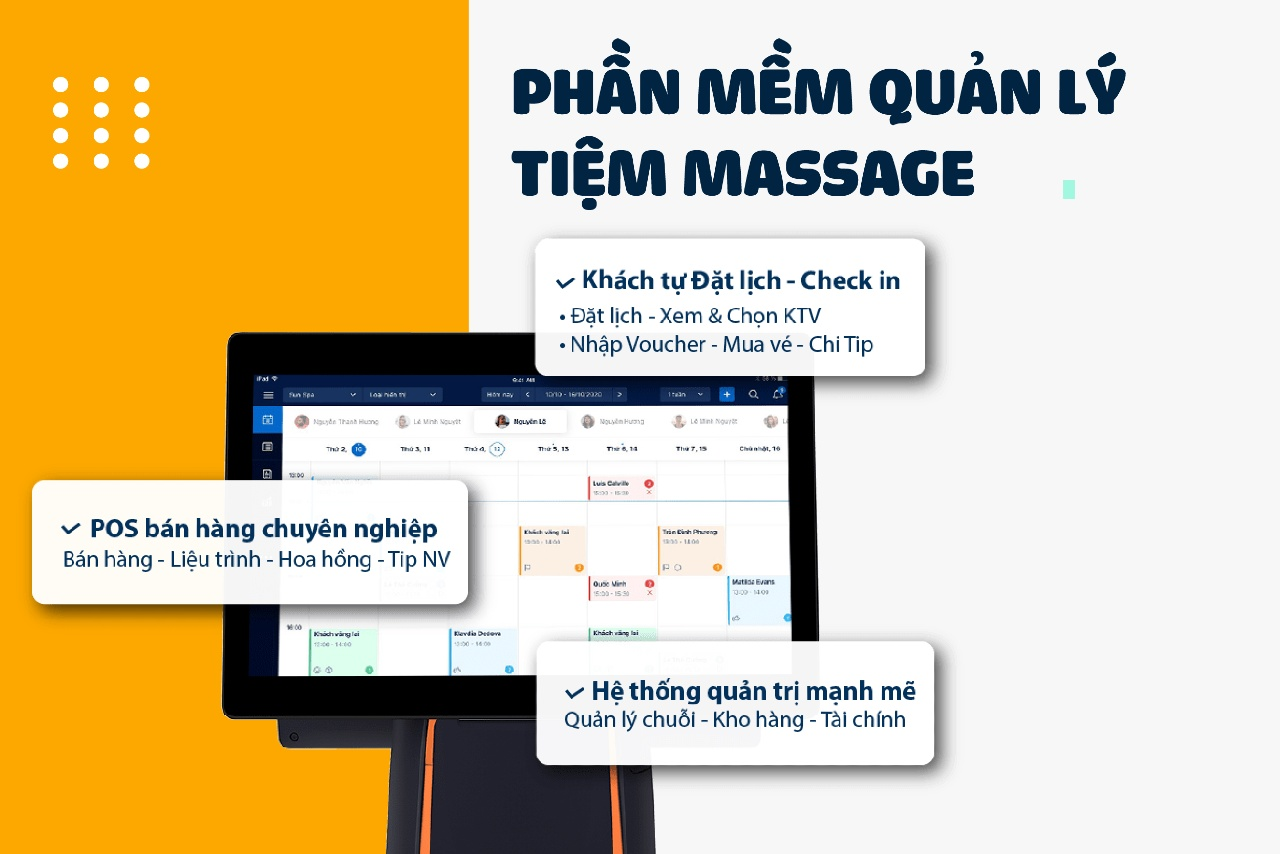 phần mềm massage