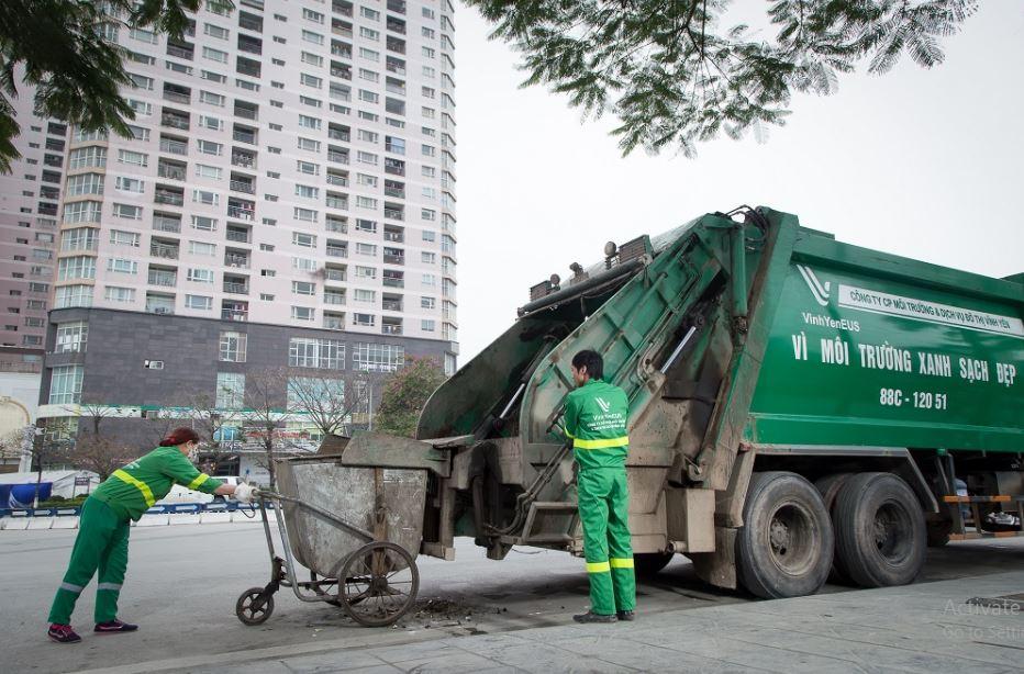 thu gom rác