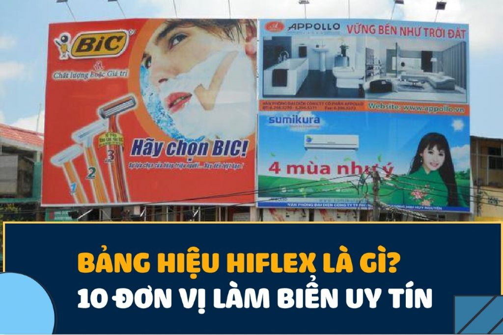 bảng hiệu hiflex