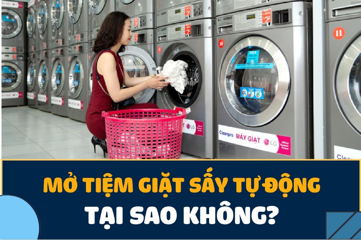 giặt ủi tự động