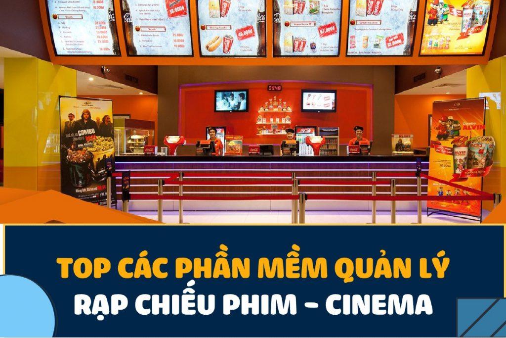 giao diện phần mềm quản lý rạp chiếu phim