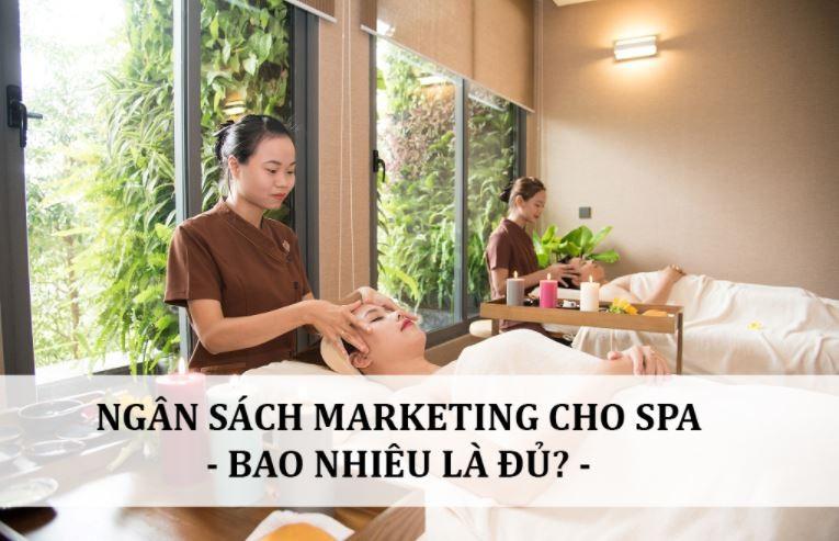 chi phí marketing cho spa