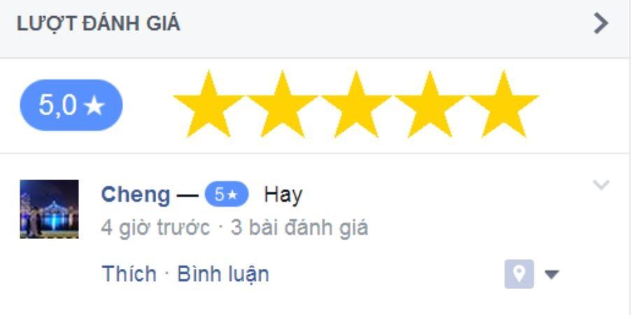 đánh giá facebook