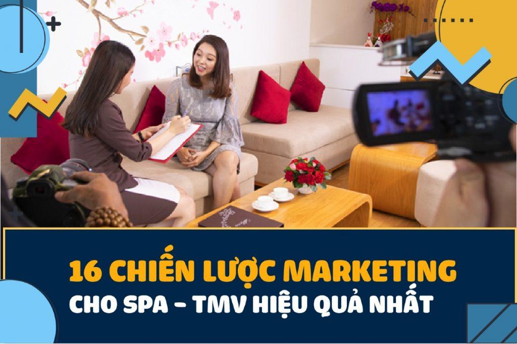 marketing cho spa thẩm mỹ viện