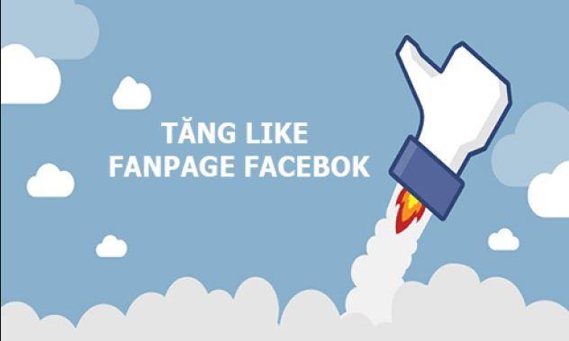 tăng like fanpage