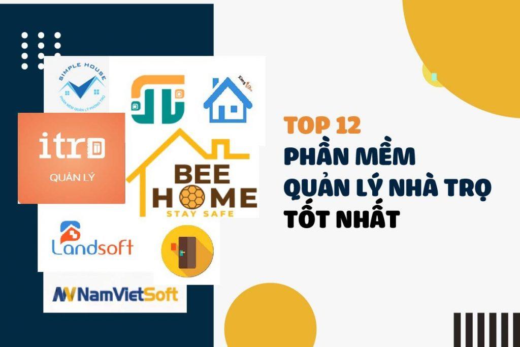 Top 12 phần mềm quản lý nhà trọ – nhà cho thuê (2021)