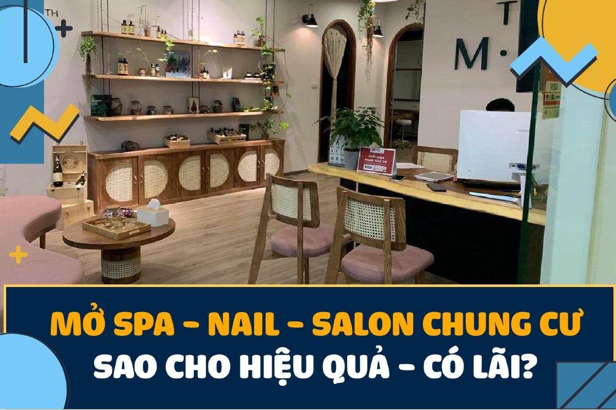 kinh nghiệm quản lý spa, nail, salon, thẩm mỹ viện