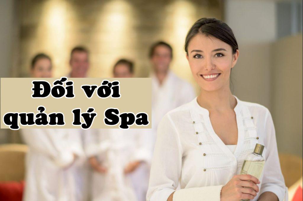 quản lý spa