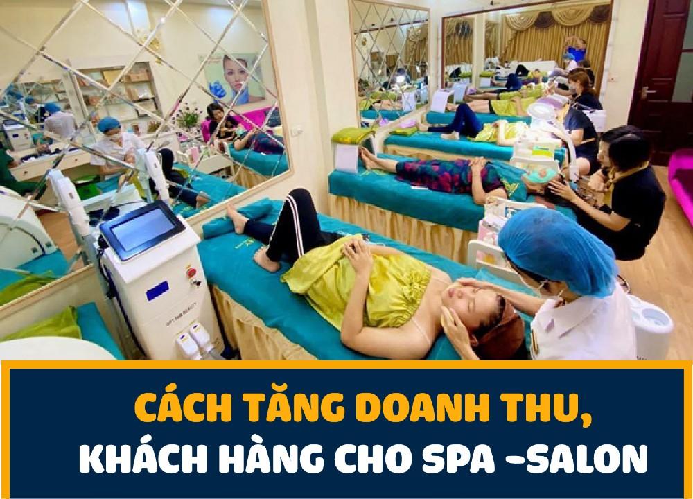 tăng doanh thu spa