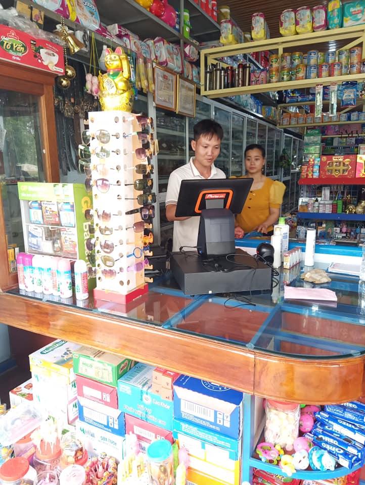 Tạp hóa Quỳnh Giang sử dụng PosApp