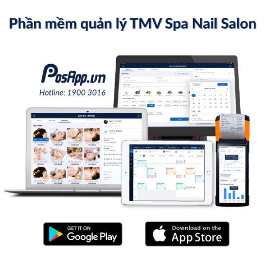 Phần mềm quản lý Salon Posapp, tiệm cắt tóc nam hiệu quả
