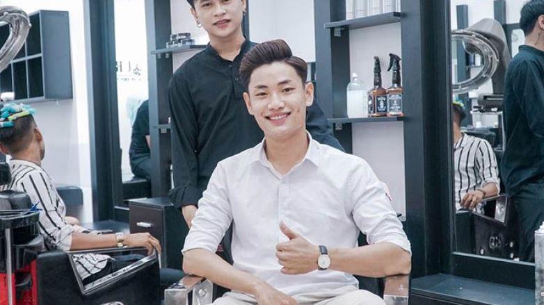 Học cắt tóc nam tại Sinh Anh Hair Salon