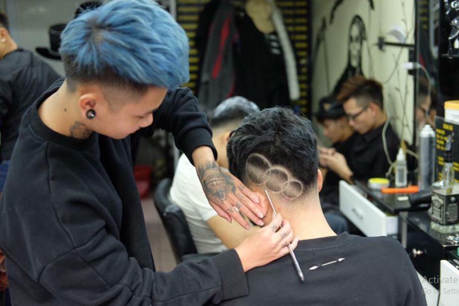 Thời gian hoàn thành khóa học cắt tóc nam khá ngắn