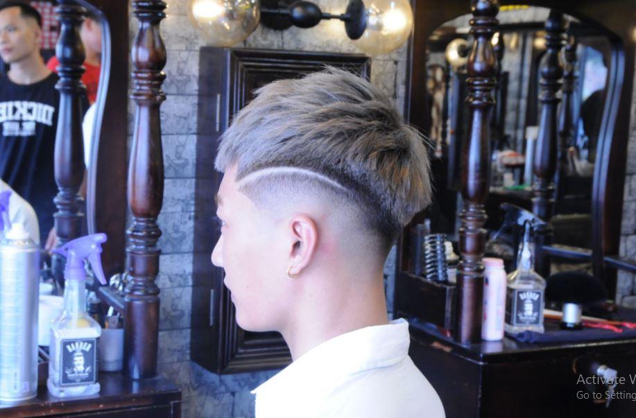 Học cắt tóc nam tại viện tóc Thảo Tây