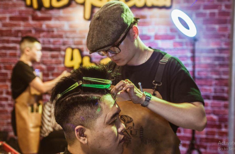 học cắt tóc nam