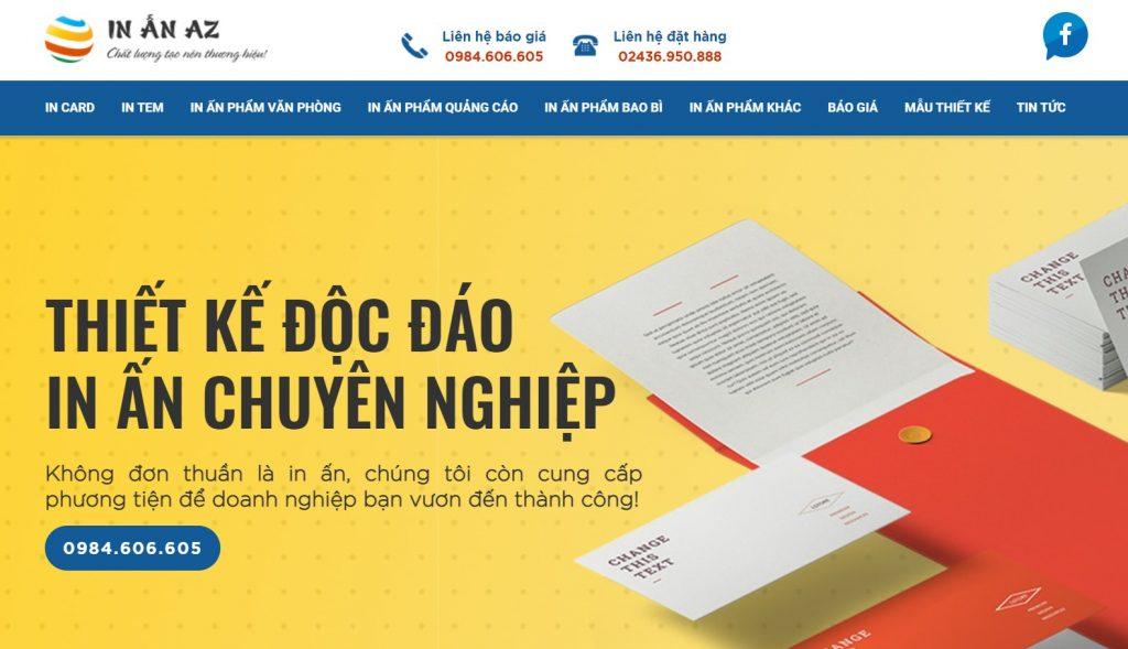 in ấn az